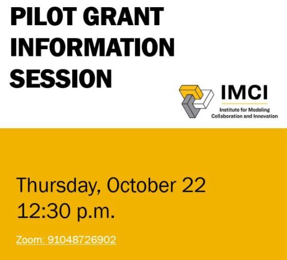 Pilot Grant Slides Available for Download