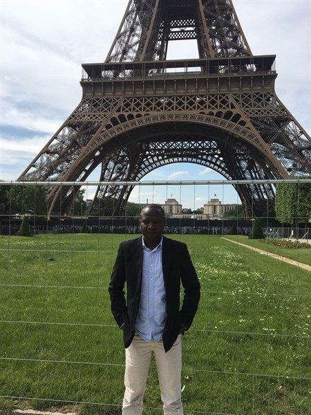 Postdoc Arrives from France