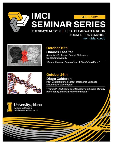IMCI Seminar Series Fall 2021