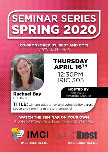 Spring Seminar Changes